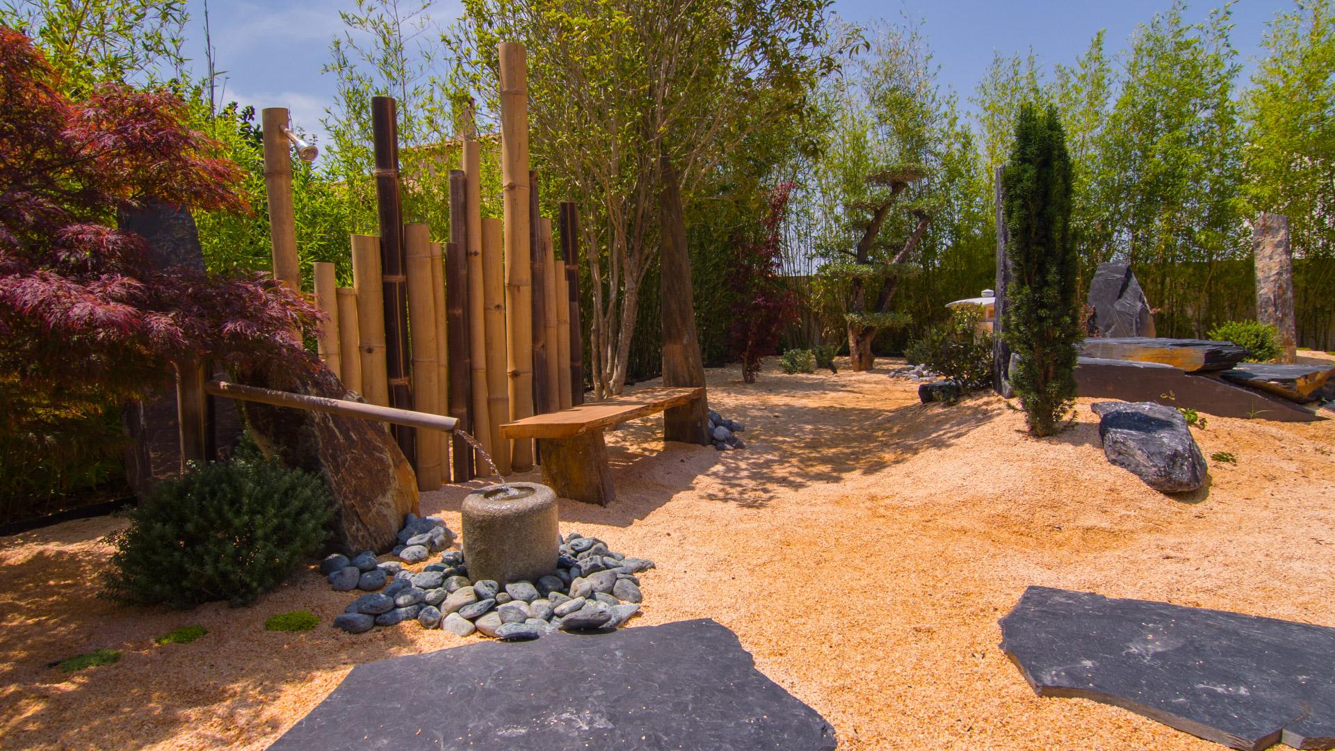 Jardin zen for Image jardin zen