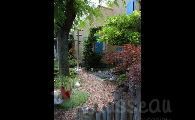 jardin zen hérault