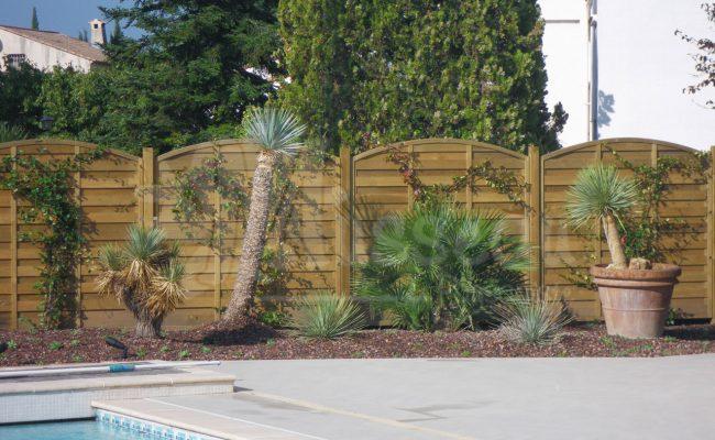 clôture en bois montpellier