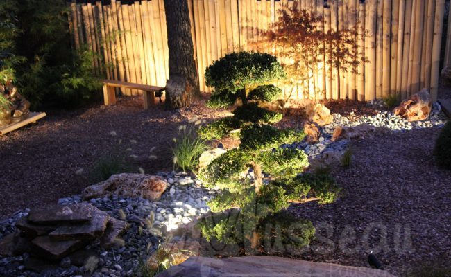 éclairage de jardin paysagiste