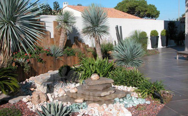 fontaine de jardin