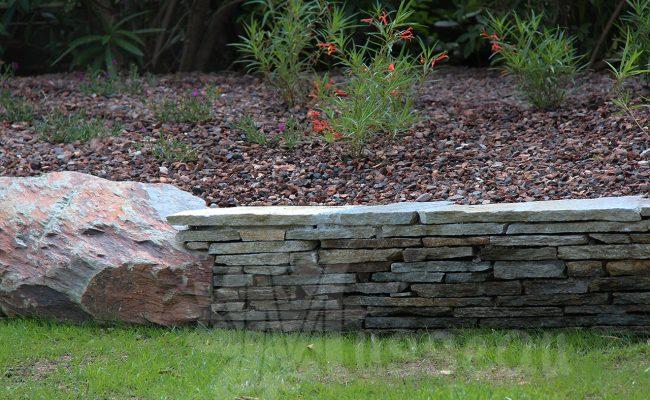Muret de jardin