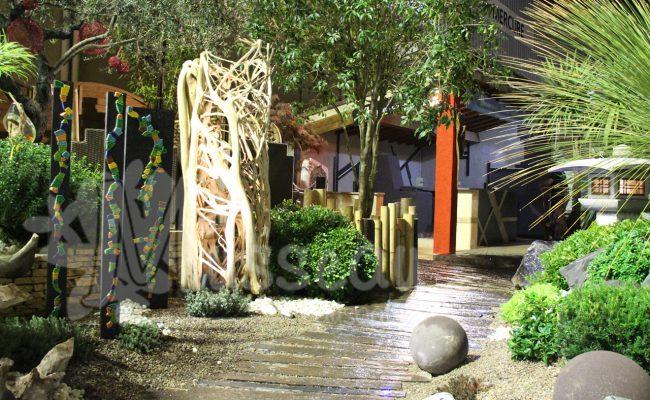 Stand jardin foire de Montpellier
