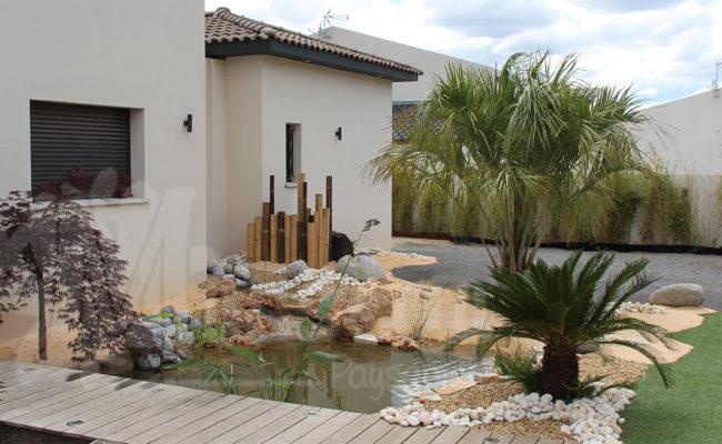 Paysagiste Montpellier -jardin d'eau
